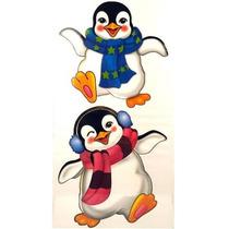 Adesivo Decorativo De Galadeira Pinguim 1 Cartela