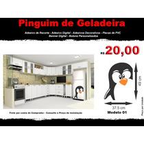 Adesivo De Pinguim - Adesivo Decorativo - Modelo 01