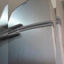 Adesivo Aço Escovado Inox P/ Geladeira Moveis 1,00 X 3,00 M
