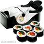 Mini Aparelho De Enrola Sushi Portatil Faca Comida Japonesa