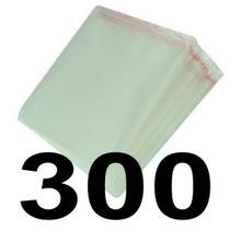 300 Envelopes Saquinhos P/ Dvd Aba Adesiva **frete Econômico