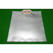 Plástico Externo Grosso P/ Lp Vinil - 100 Unid. 32x32x0,20