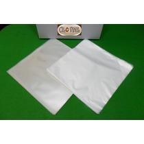 Lp Vinil - 100 Plásticos - 50 Ext. 0,20 Grosso + 50 Internos