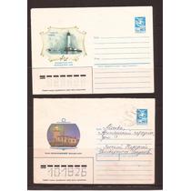 M715-união Sovietica 2 Envelopes Tema Farois