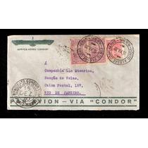 Carta De Porto Alegre Para Rio Janeiro-via Condor-1930