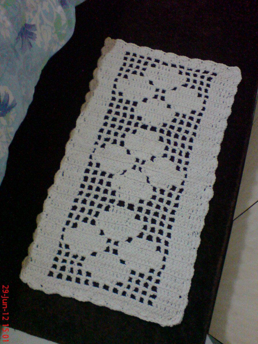 Tapete De Croche Retangular Para Cozinha Oppenau Info -> Tapete De Barbante Com Luiza De Lugh