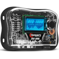 Equalizador Taramps Deq-1000 Digital Gráfico Lcd 15 Bandas