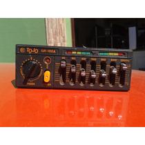Amplificador E Equalizador Tojo Gr100 Carro Antigo Fusca Vw