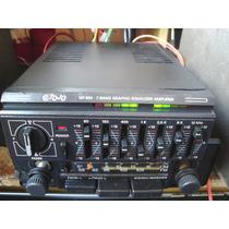 Amplificador E Equalizador Tojo Gr900 Carro Antigo Fusca Vw