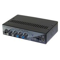 Mixer Stetsom Ma1300 Propaganda Pen Drive Microfone Aux P2