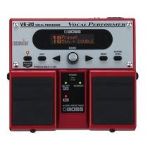 Processador De Efeitos Vocal Boss Ve20 - Loja Bolero Music !