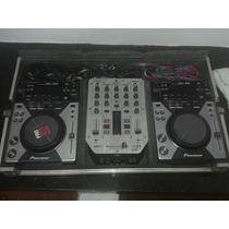 Par Cdj 400 + Mixer + Case
