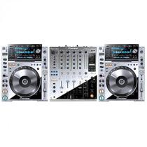Kit Cdj 2000 Nexus Platinum + Djm 900 Nexus