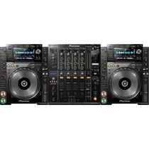 Kit Pioneer Cdj-2000nxs + Djm-900nxs - Panda Import
