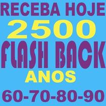 Pacotão 1800 Musicas Flashback Anos 60 70 80 90 São 13gb