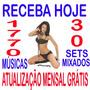 Repertório Dj 1770 Músicas+30 Sets Mix+frete Grátis+download