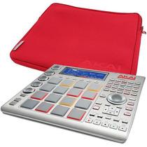 Sampler Akai Mpc Studio Com Bolsa Akai Linda Na Cor Vermelha