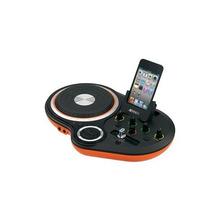New Jensen Jdj-500 Ipod Iphone Dock Dj Scratch Mixer With Cr