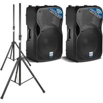 2 Caixas De Som Ativas Alto Ts115w Wireless 15 + 2 Tripés