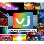 Arkaos 1.02.2 + Videos Imagens Loops P/vjs