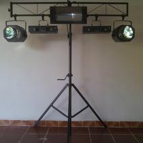 Tripe Iluminacao C/ Trelica Catraca Em Aco 3 X 1,6m C/ Video