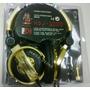 Pioneer Hdj-1000 Gold Pro Dj Stereo Headphones