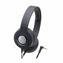 Fone De Ouvido Audio Technica Ath Ws33x Solid Bass Preto