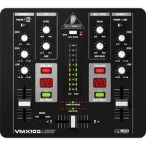 Mixer Behringer Vmx 100 Usb 2 Canais Revenda Autorizada + Nf