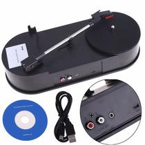 Toca-discos Conversor De Lp Vinil Para Mp3 - Pronta Entrega