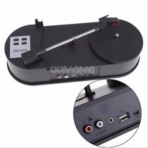 Toca Discos Usb E Conversor Digital Mp3 - Vinil Lp Vitrola