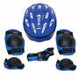 Kit Proteção Infantil Para Patins, Rollers, Skate, Bike - P