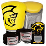 Kit Boxe Training Pretorian -12 Oz Amarelo