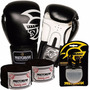 Kit Boxe Training Pretorian -10 Oz Preto