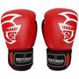 Luva Boxe / Muay Thai Pretorian Pro Trai Vermelha