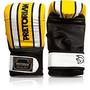 Luva Pretorian Boxe / Bate Saco - Amarelo Com Branco - G