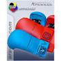 Luva Karate Arawaza Wkf-wkf Approved P Azul
