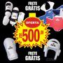 Kit De Proteções Daedo C/ 4 Peças - Taekwondo + Gratis Luvas