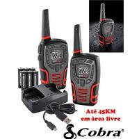 Radio Comunicador Cobra 45km Cxt545 Talkabout Walk Talk