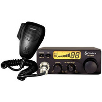 Radio Px Cobra 19 Dx Br80 Canais Am/fm 8 Watts- Frete Grátis