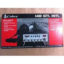Radio Px Cobra 148 Gtl Intl Am Lsb Usb - Novo/original