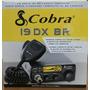 Radio Px Cobra 19 Dx Br 80 Canais