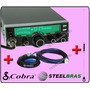 Pacote Px: Cobra 25 Lx + Kit Magnético Steel Frete Gratis !