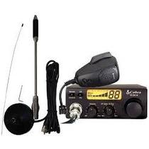 Radio Px Cobra 19 Dx Iv 40 Canais + Antena Px Cb-20 Voyager