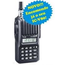 Ht Ic-v80 Modelo Novo Da Icom + Compacto+leve,o Mais Barato