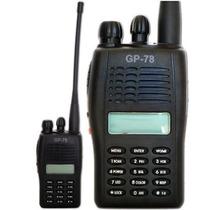 Radio Ht Gp 78 Gp-78 Elite Vhf + Brinde Único No Ml Com Nf-e