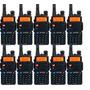 Kit 10 Rádio Dual Band Baofeng Uv-5r 136-174/400-520 Mhz Fon