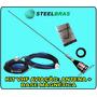 Antena Vhf Aviação + Base Magnética Steelbras   Frete Grátis