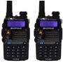 Kit 2 Radio Ht Uv-5ra Comunicador Baofeng Dual Band Uhf Vhf