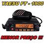 Rádio Vhf Yaesu Ft-1900r - 55 Watts - Zero - Homologado