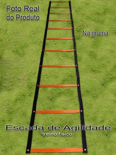 Escada De Agilidade Circuito + Brinde E Frete Grátis
